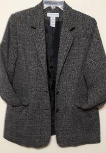 Sag Harbor Tweed Black & White Jacket